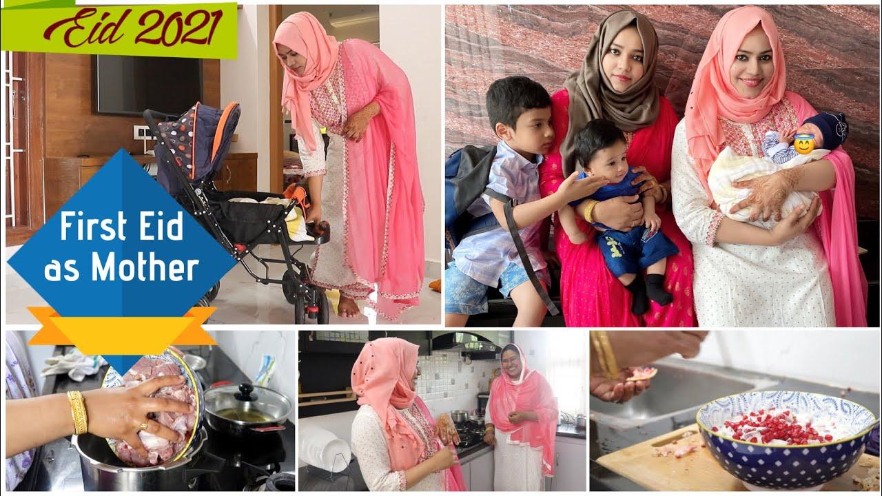 Eid 2021 as New Mom / Zulfia's Recipes / Bakrid 2021