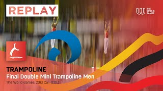 TWG Cali 2013 - Highlights of the Men's Double Mini Trampoline Final