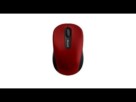 MS Mobile 3600 Bluetooth Mouse Unboxing and Pairing