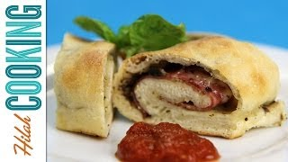 How to Make Stromboli Pizza Rolls   Hilah Cooking