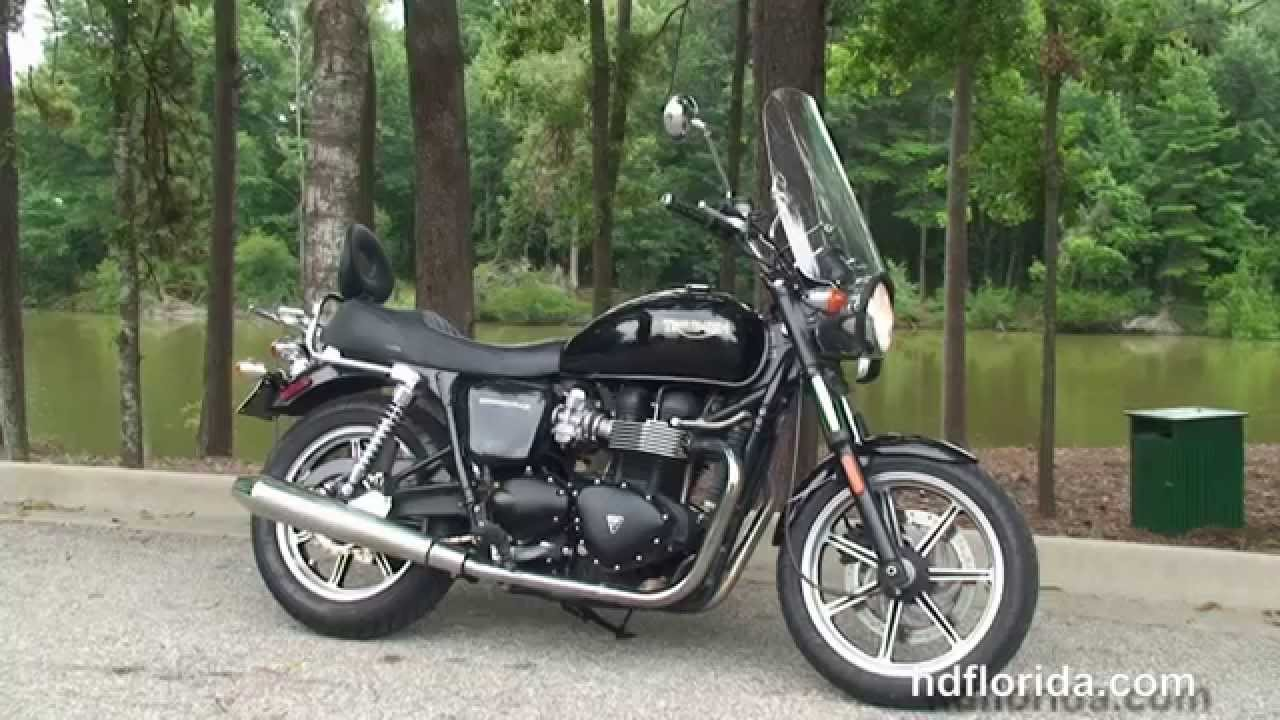 used 2009 triumph bonneville motorcycles for sale florida usa