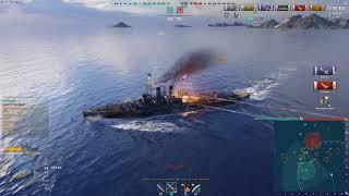 World of Warships- Steve's 7 Kill Kraken- With 5 Close Quarters Expert