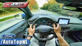 2019 Ford Focus ST Line 184HP POV Test Drive by AutoTopNL
