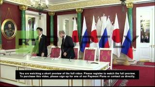 Russia: Island dispute talks with Japan to resume, says Putin