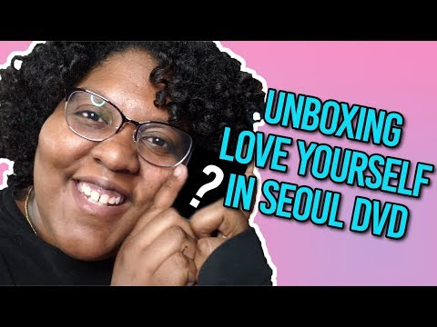 BTS Love Yourself in Seoul DVD | Unboxing