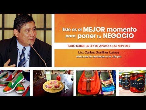Descargar Video Webinar Todo Sobre la Ley de Apoyo a las MIPYMES en Honduras