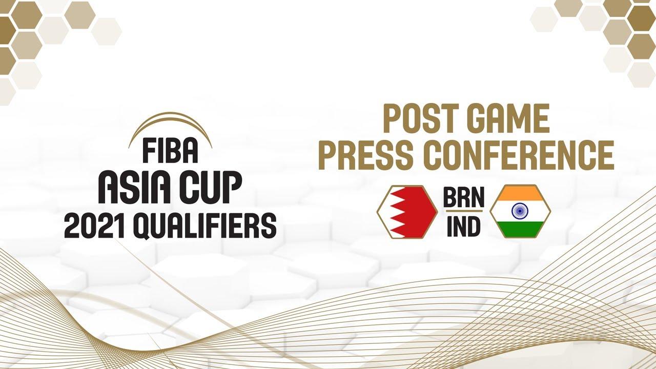 Bahrain v India - Press Conference