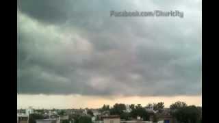 Clouds above DHURI CITY - SANGRUR - PUNJAB