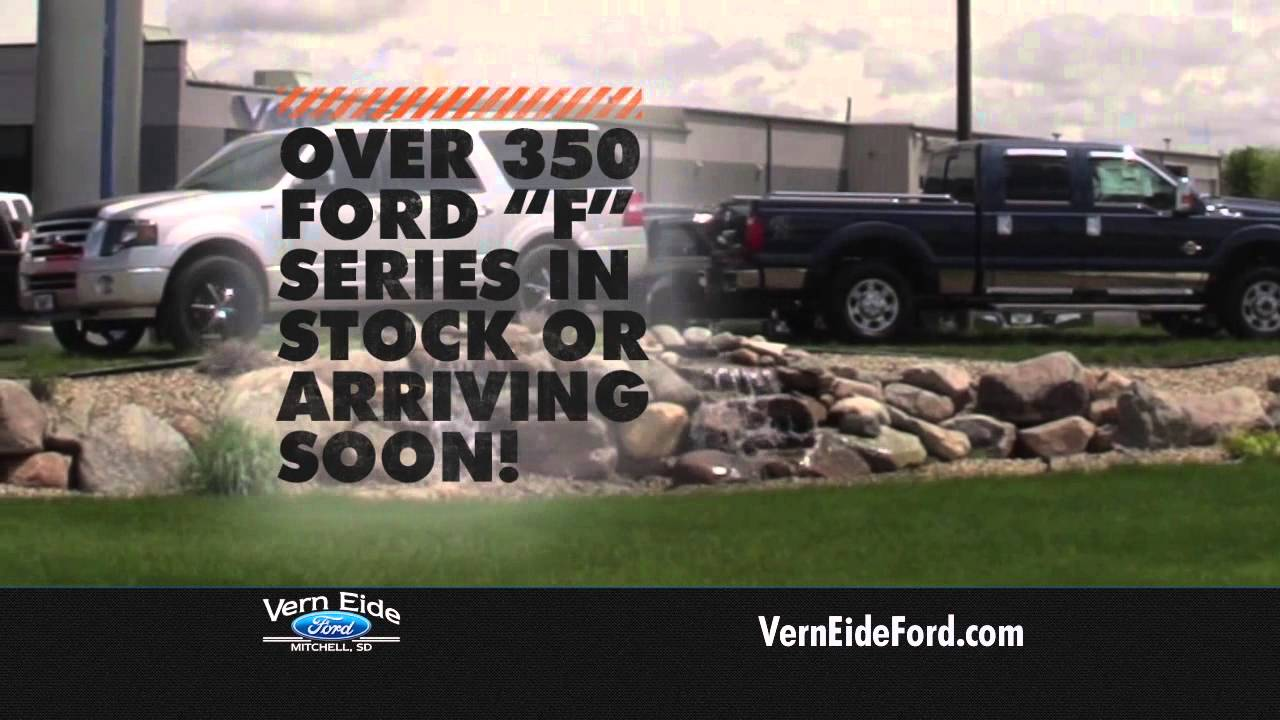 Ford Truck Month At Vern Eide Ford Youtube