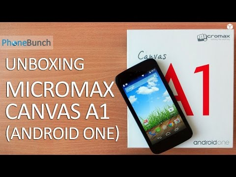 Micromax Canvas A1 Android One Unboxing