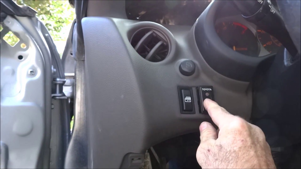 Toyota Celica Security Alarm Sensitivity Adjustment