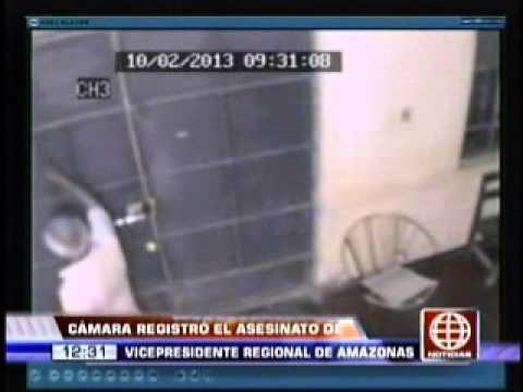 Imágenes muestran a joven sicario que mató a Vicepresidente Regional de Amazonas