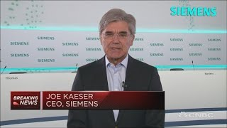 Siemens ceo joe kaeser discusses the industrial company's fourth-quarter earnings and second wave of coronavirus pandemic.