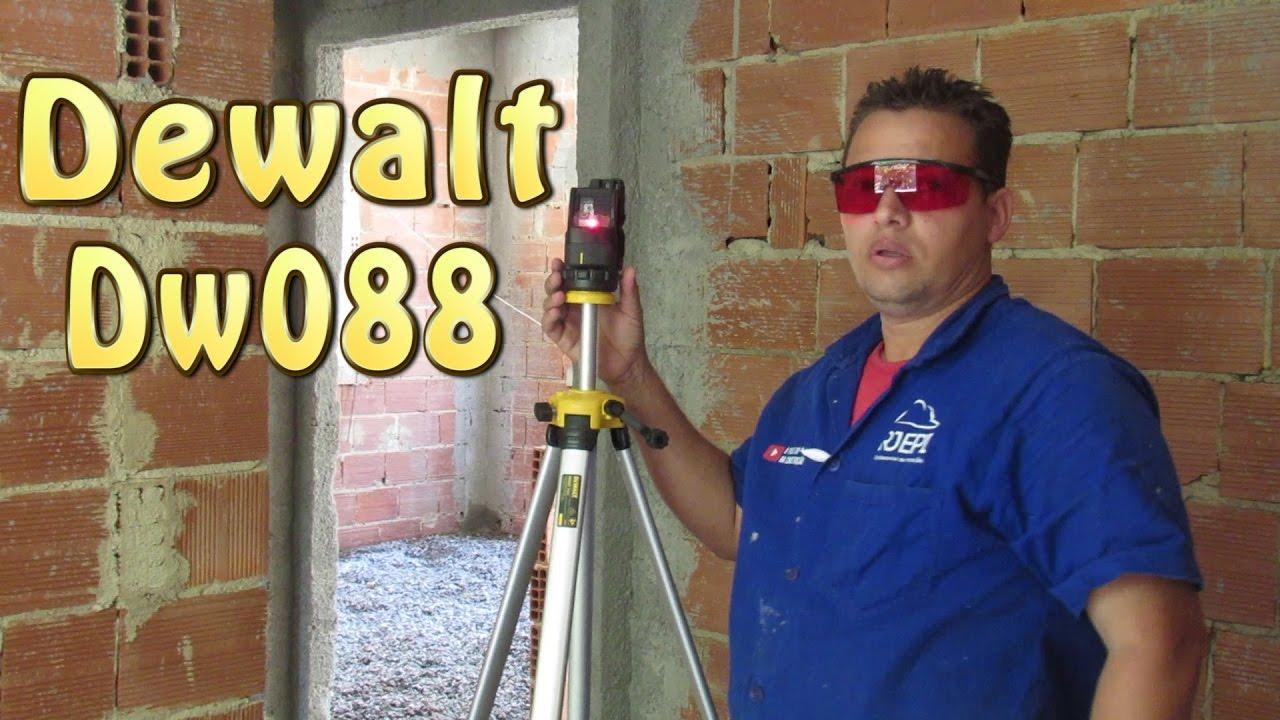 Nivel a Laser Dewalt DW088 - YouTube b94c664c4c