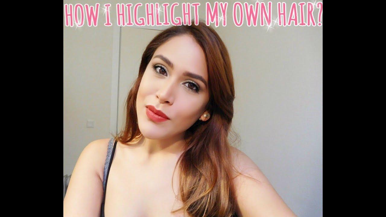How i highlight my hair at home using glam highlights preference how i highlight my hair at home using glam highlights preference loreal paris youtube pmusecretfo Choice Image