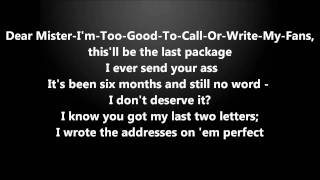 Eminem Feat. Dido - Stan // Lyrics On Screen (HD)
