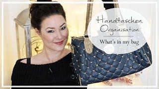 Handtaschen Organisation I Endlich Ordnung! what's in my bag