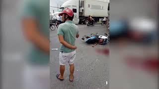 Tai nạn giao thông tại Thị trấn Chờ khiến 2 người tử vong