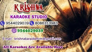 Poovayi Virinju Karaoke By Adharvam