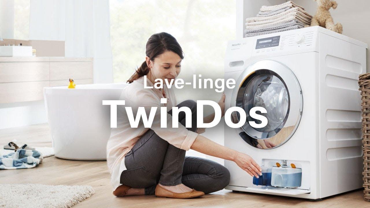 les lave linge miele avec twindos youtube
