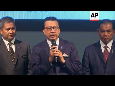 Malaysia Transport Minister on new search for missing plane