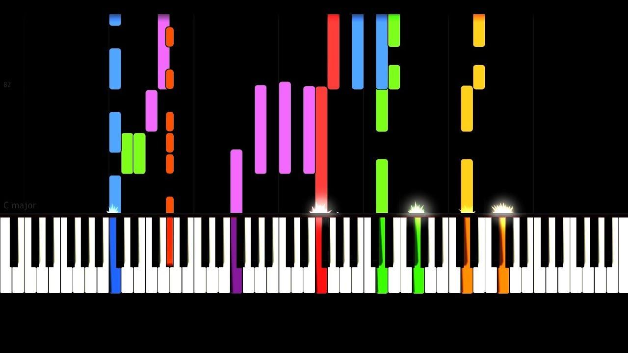 Super LOREDANA – GENICK – IMPOSSIBLE REMIX PIANO | Online Pianoles LH-79