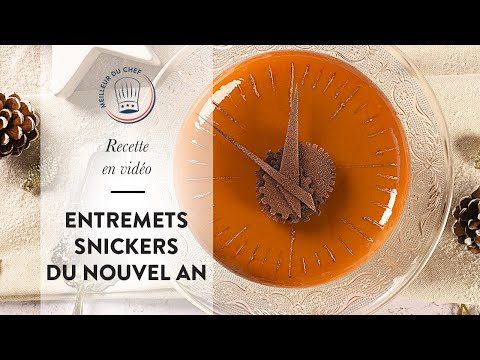 recette-pour-le-nouvel-an-:-l'entremets-snickers-du-chef-mof-thierry-bamas-!