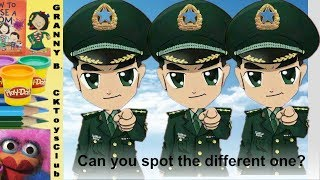 3 spot the differences puzzles. See how smart your are!