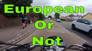 He Is European, I Is British