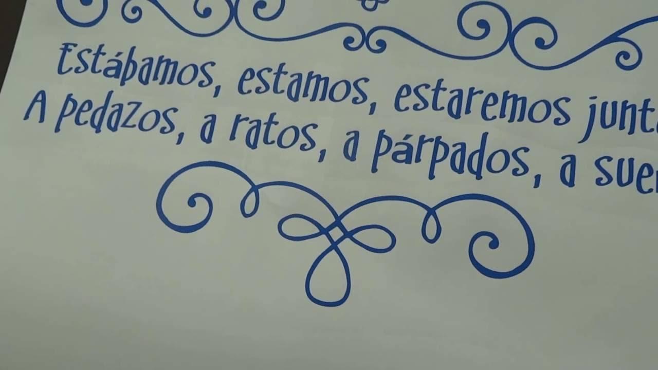 Frases De Academia Para Foto: Vinilo De Texto Con Una Frase De Mario Benedetti