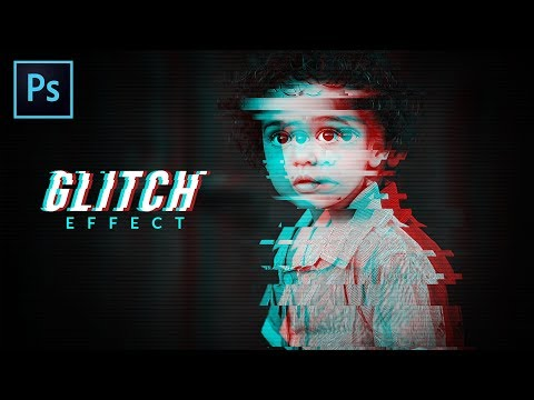 Glitch Effect On Portrait | Photoshop Tutorial