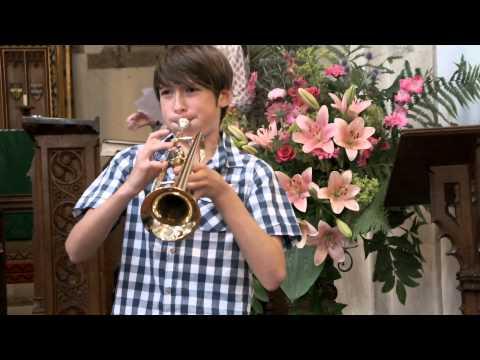 Boogie Woogie Bugle Boy - Don Raye & Hughie Price, played by Mark (age 12)