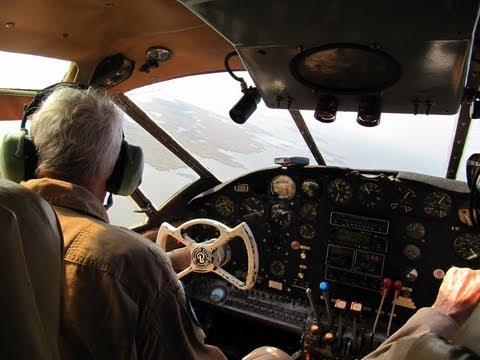 Beechcraft C-45F Expeditor Flight over NAS Oceana - Beech 18