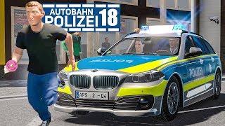 Überfall auf DONUT-LADEN! AUTOBAHNPOLIZEI-SIMULATOR 2 #18 | Autobahn Police Simulator 2 deutsch