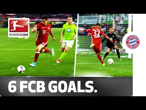 Champions in Style - Bayern's 6-Goal Title Party