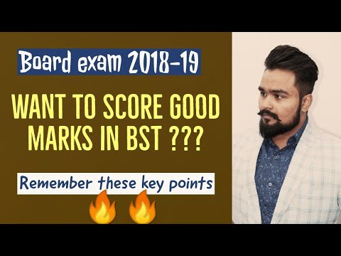 Business studies | Class 12 board exam | Important tips | 2019