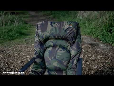 TF Gear Survivor Carp Fishing Beds & Chairs From Fishtec