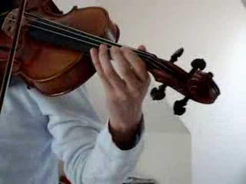 Houki Boshi on Violin