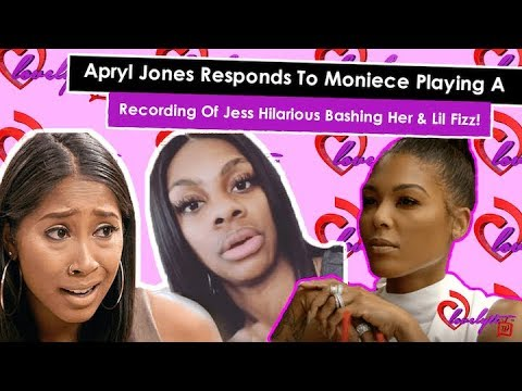 Apryl Jones Responds To Moniece Playing A SECRET Recording Of Jess Hilarious Bashing Her & Fizz! from YouTube · Duration:  30 minutes 5 seconds