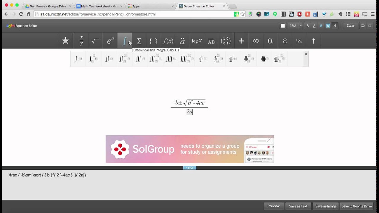 Creating math worksheets in Google Docs YouTube – Create Math Worksheets