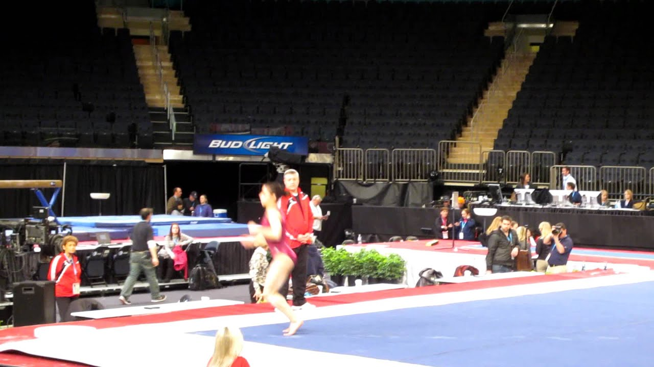 Aly Raisman Floor Exercise 2012 At Amp T American Cup
