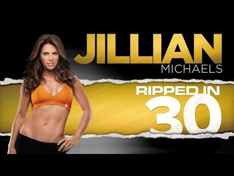 Mi rutina Ripped in 30 de Jillian Michaels Semana 3 completa / Routine week 3 full Jillian Michaels.