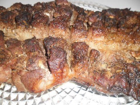 Запеченный мясной рулет рецепт мяса в духовке