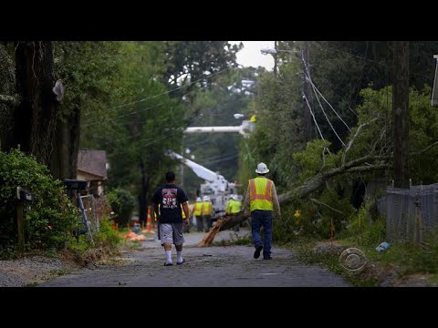 Hurricane Nate brings flooding, power outages to Louisiana and Mississippi