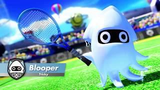 Mario Tennis Aces - Blooper Character Trailer