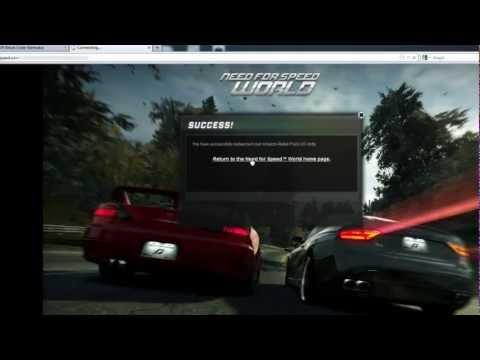 Need For Speed World - Speed Boost Code Generator Online (working)