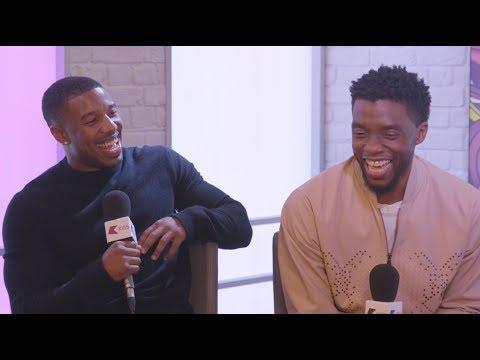 Michael B. Jordan and Chadwick Boseman Talk All Things Black Panther