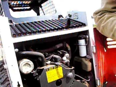 Bobcat 642 Changing the Spark Plugs  YouTube