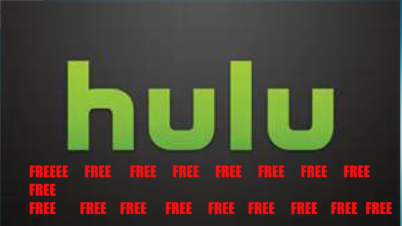 How To Get Free Hulu Free Hulu Account - YouTube