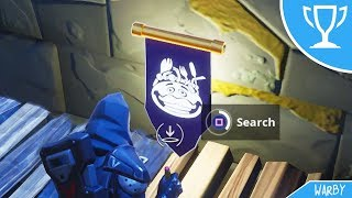 Secret Banner Location Semaine 8 Saison 5 (Road Trip Challenges) - Fortnite Battle Royale